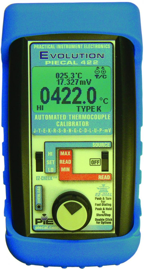 PIE 422 Thermocouple Calibrator