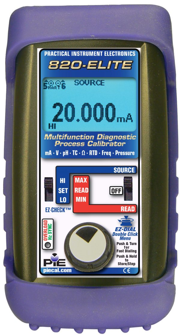 PIE 820 Elite Multifunction Calibrator