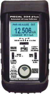 PIE 334Plus diagnostic loop calibrator - find hidden loop problems