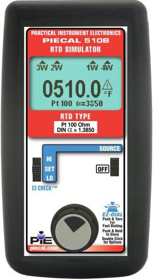PIE 510B RTD Source - Single RTD Type