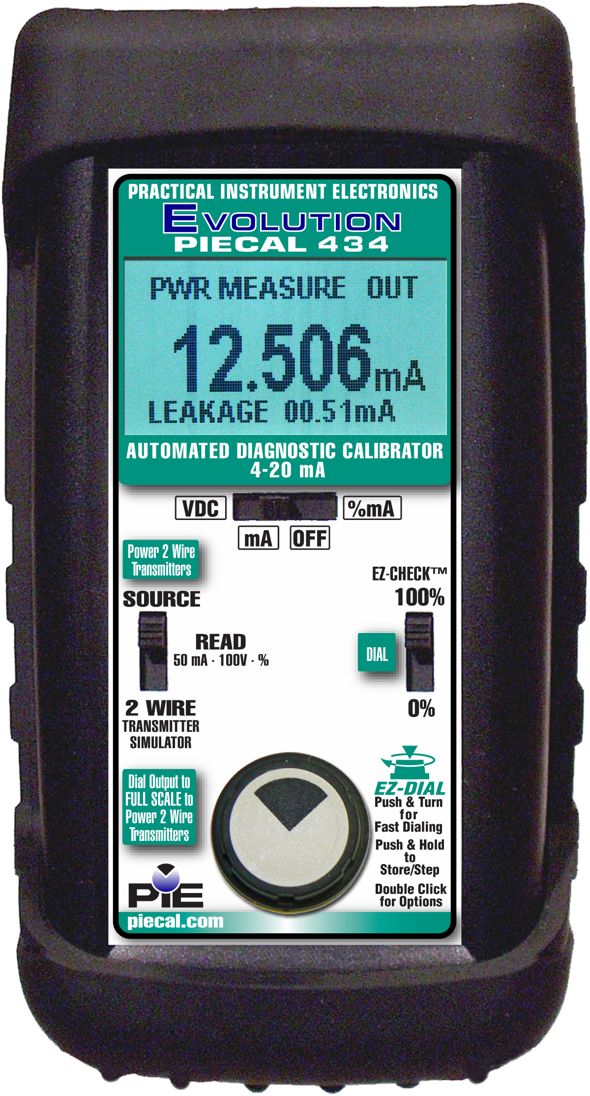 PIE 434 automated diagnostic calibrator detect hidden loop problems