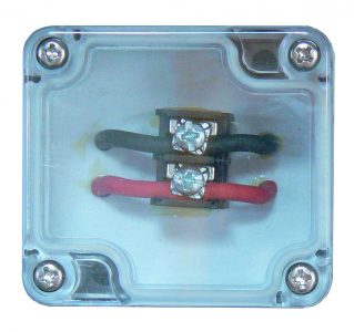 Dry junction box in 4 to 20 milliamp loop